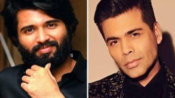 """I feel a responsibility to give you a massively memorable film,"" says Vijay Deverakonda to Karan Johar"