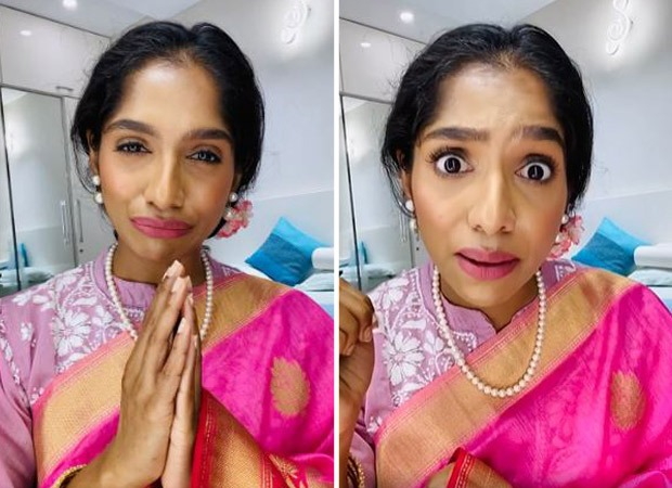 Jamie Lever imitates Asha Bhosle and sings a song to send an important message