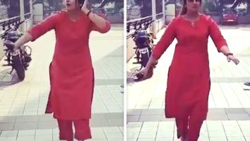 Huma Qureshi gives a glimpse of celebratory dance she will do once the lockdown ends