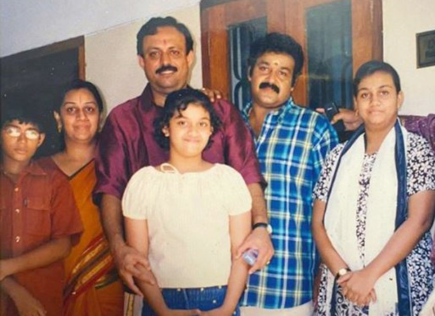 Keerthy Suresh shares a throwback image with Mohanlal; says she has gone from sharing an image to sharing display screen with the actor : Bollywood Information 7