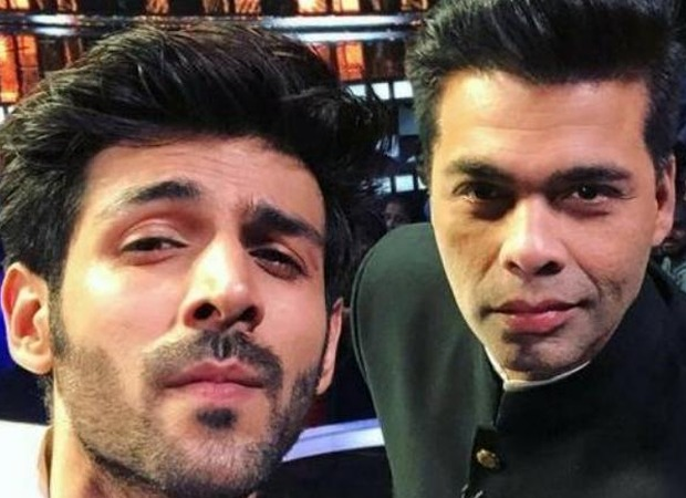 After Karan Johar praises Kartik Aaryan's show Koki Poochega on Instagram live the actor makes a request