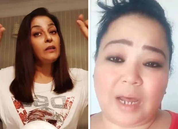 The Kapil Sharma Show's Archana Puran Singh demonstrates how to shape eyebrows at home after Bharti Singh asks for help