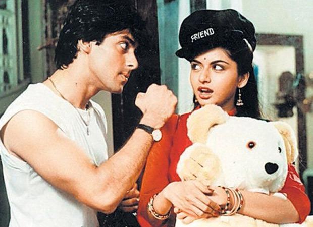 When a photographer asked Salman Khan to kiss Bhagyashree during a photoshoot for Maine Pyar Kiya