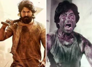 Yash's character Rocky in KGF Chapter 1 was inspired by all 70's movies featuring Amitabh Bachchan