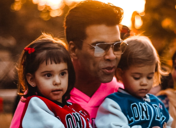Watch: Karan Johar's kids cease him from consuming his birthday cake as he'll change into fats! : Bollywood Information 3