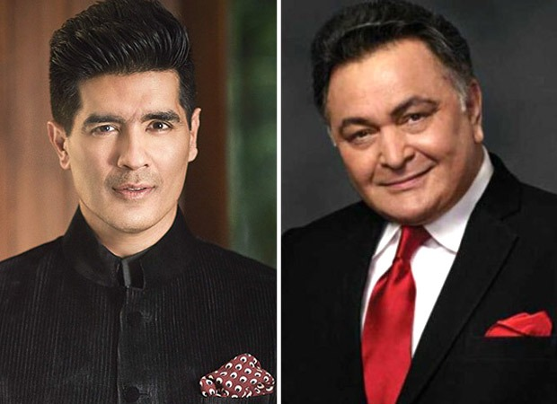 Manish Malhotra remembers late Rishi Kapoor with a throwback video