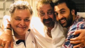 """""""He has always been an elder brother to me,"""" writes Sanjay Dutt as he remembers Rishi Kapoor"""