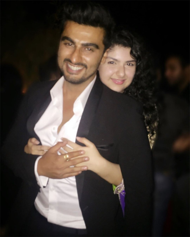 """Anshula Kapoor pens heartfelt birthday wish for brother Arjun Kapoor - """"You've parented me like a father, you are my home"""""""