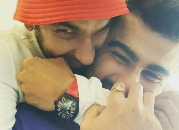 Arjun Kapoor says 'why not' when asked by a fan to host a show with Ranveer Singh