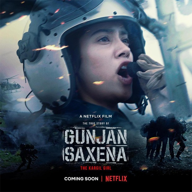 Netflix shells out whopping Rs. 70 cr to acquire Janhvi Kapoor starrer Gunjan Saxena: The Kargil Girl