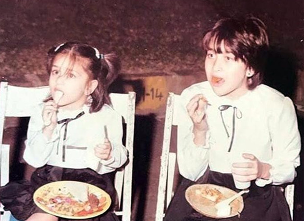 Kareena Kapoor Khan takes the Childhood Challenge by UNICEF, shares a throwback picture with Karisma Kapoor