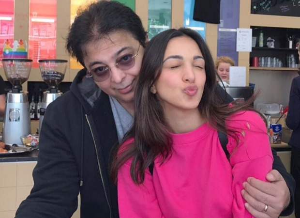 Kiara Advani shares adorable pictures with her father on his birthday