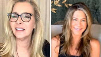 Lisa Kudrow explains to Jennifer Aniston why she doesn't watch Friends re-reuns