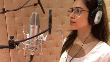 Nushrat Bharucha heads for a dubbing session, says she's happy to be close to work