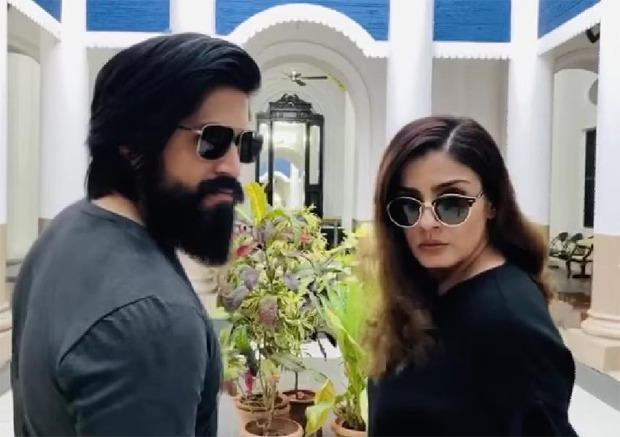 Raveena Tandon says she is the hero and the villain in KGF: Chapter 2