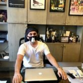 Ritesh Sidhwani is back to work adhering to the new normal lifestyle