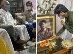 Shekhar Suman and Sandip Ssingh visit Sushant Singh Rajput's Patna home to meet his family