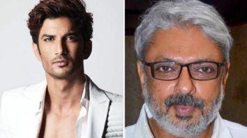 Sushant Singh Rajput was offered four films by Sanjay Leela Bhansali