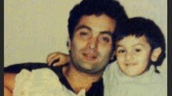 THROWBACK: Riddhima Kapoor Sahni shares a precious photo of baby Ranbir Kapoor and dad Rishi Kapoor