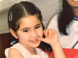 Throwback: Sara Ali Khan looks adorable in pigtails as a toddler