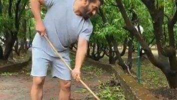 Salman Khan's Panvel farmhouse affected by Cyclone Nisarga; Iulia Vantur shares visuals