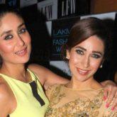 """My sister, my second mother and my best friend,"" writes Kareena Kapoor wishing Karisma Kapoor"