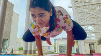 Samantha Akkineni pulls off the crow pose and reveals why she enjoys yoga