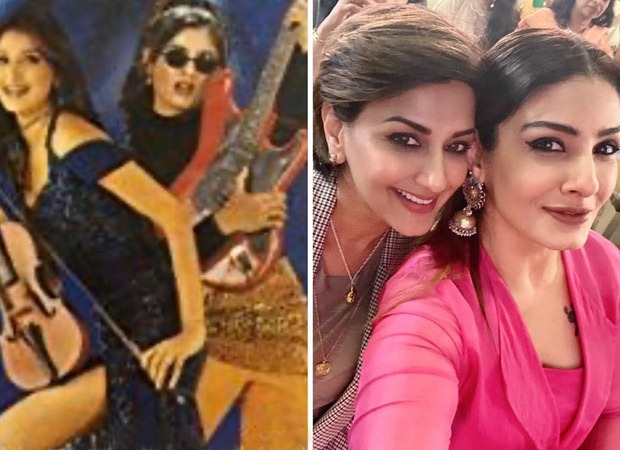 Raveena Tandon shares a 'then and now' photograph with Sonali Bendre, followers bathe love : Bollywood Information 3