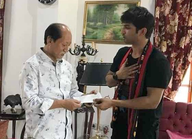 Former Nagaland Governor's son remembers Sushant Singh Rajput's 'quiet' donation throughout the 2018 floods : Bollywood Information 3