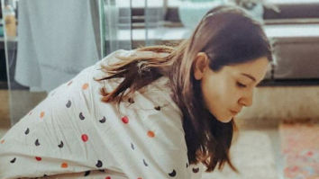 Anushka Sharma's picture perfect morning ritual with her pet dog leaves Virat Kohli in awe