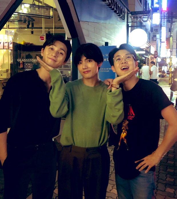 BTS member V's facetime call with actors Park Seo Joon and Choi Woo Shik gives a peek into their wholesome friendship