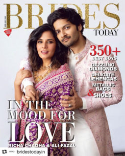 Richa Chadda On The Cover Of Brides Today