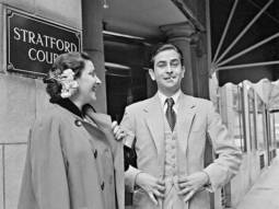 Dharmendra shares throwback picture of Raj Kapoor and Nargis from 1949 film Andaz shoot in London