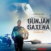 First Look Of Gunjan Saxena - The Kargil Girl