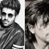 Kartik Aaryan recounts his craze for Shah Rukh Khan as he thanks a fan for putting up his posters in her room