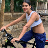 Nia Sharma explains why she did not wear a mask while posing on the bicycle
