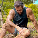 """""""Respect to all the farmers"""" – says Salman Khan as he is seen soaked in mud at his Panvel farm"""