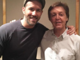 Ryan Reynolds jokingly sends Paul McCartney a bottle of Gin from Buckingham Palace
