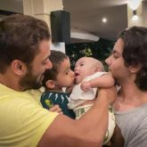 Salman Khan shares adorable picture with his niece Ayat and nephews Ahil and Nirvan