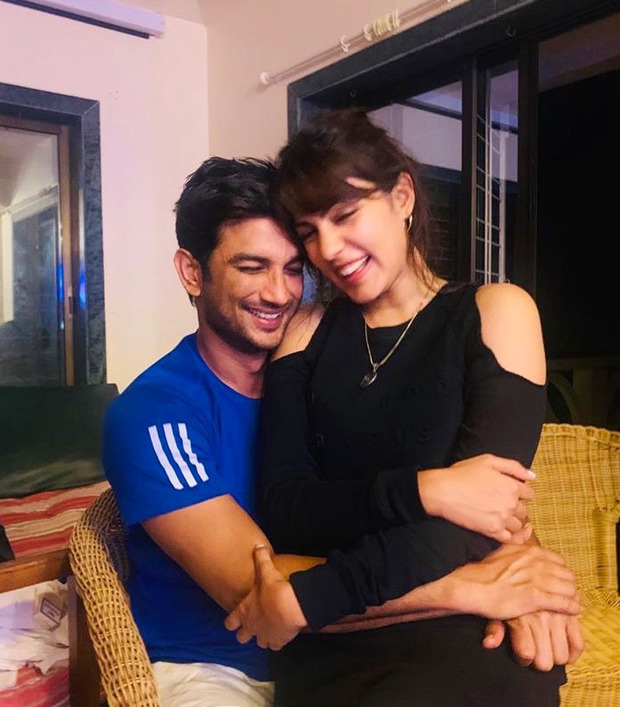 Rhea Chakraborty pens emotional note on Sushant Singh Rajput