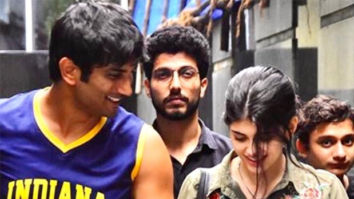 Sushant Singh Rajput's Dil Bechara co-star Sanjana Sanghi shares unseen moments