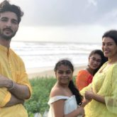 Sushmita Sen shares cute videos of beau Rohman Shawl as he tutors Alisah and her friend