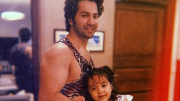 Varun Dhawan gets the cutest workout partner in his niece, Niara Dhawan