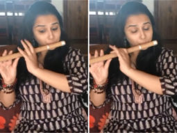 Vidya Balan learns to play flute for Shakuntala Devi