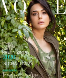 Preity Zinta On The Covers Of Vogue