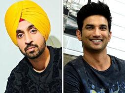 Diljit Dosanjh calls Sushant Singh Rajput a 'Jaandaar banda'; feels Dil Bechara should have been released in theatres