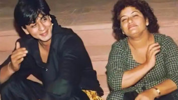 """""""She taught me for hours how to do the 'dip' for film dancing,"""" writes Shah Rukh Khan remembering Saroj Khan"""