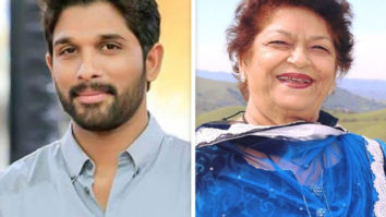 """She was my 1st choreographer ever in the movie DADDY,"" writes Allu Arjun sharing old pictures with Saroj Khan"
