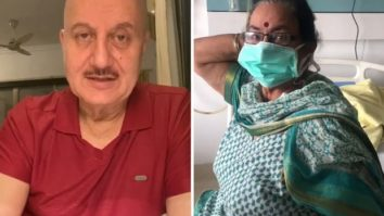 Anupam Kher shares adorable video of mother getting discharged from the hospital after COVID-19 treatment
