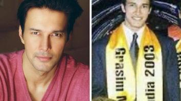 Rajniesh Duggall reminisces his Mr. India 2003 days
